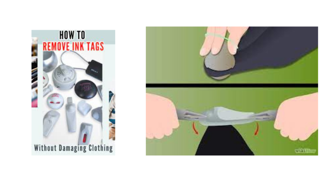 How to Remove Clothing Security Tag