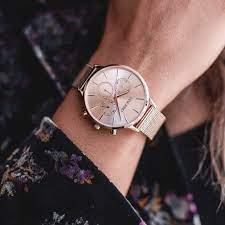 Kleio Wrist Watch with a Mesh Watch Band-VINCERO of Best Women's Luxury Watches