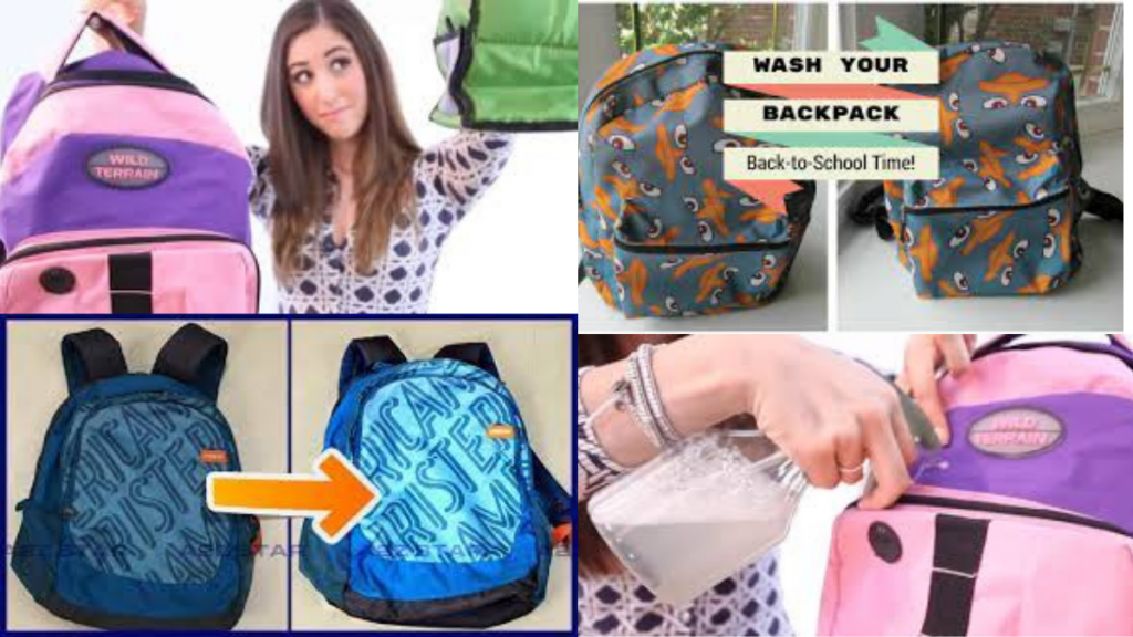 How to Wash Backpack